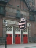 Shuter Street entrance to Massey Hall. Toronto, Canada.