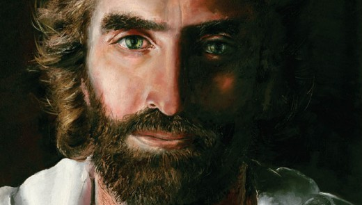 """Prince of Peace"" painted bt Akiane Kamarik"