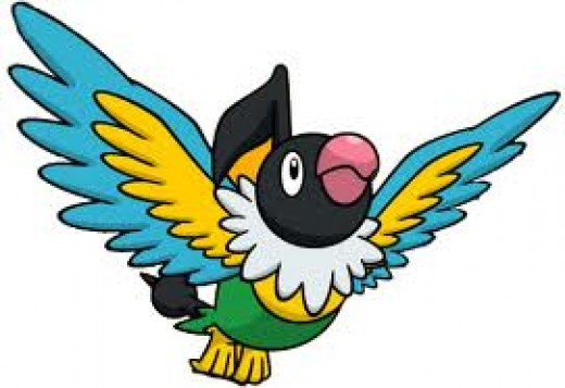 Chatot - the only non-legendary Pokemon banned from the random battles