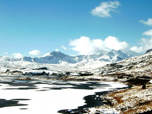 View towards Snowdon