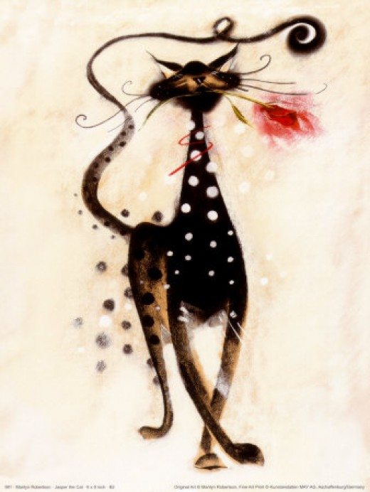 Jasper the Cat - Marilyn Robertson
