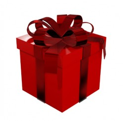 Can you suggest an original and unusual way to wrap a present for a loved one?