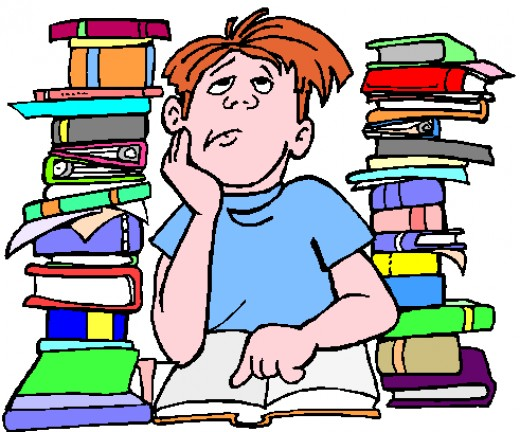 Frequent comment by students:'So much to study! But I don't have time'