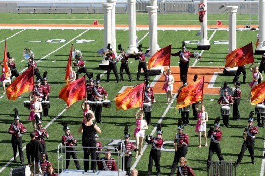 Discipline and Respect is learned at  band competions