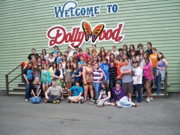Playing music and Having a blast going on band trips was a great experience for the kids. This is when they went to Dollywood