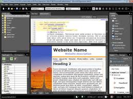 Preview of your html code is visible in a separate pane. As the code is tweaked and adjusted, the changes are visible as they are made.