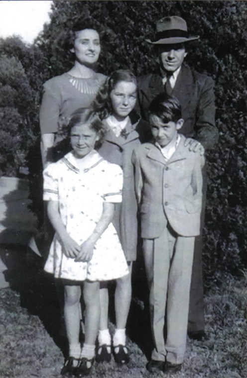 Rhoda, Edgar, Virginia, Darlene, and Jerry Eddlemon