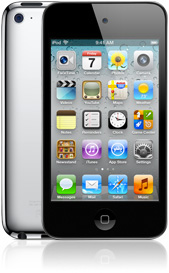 The fourth-generation iPod Touch doesn't have a visible Wi-Fi antenna on the back.