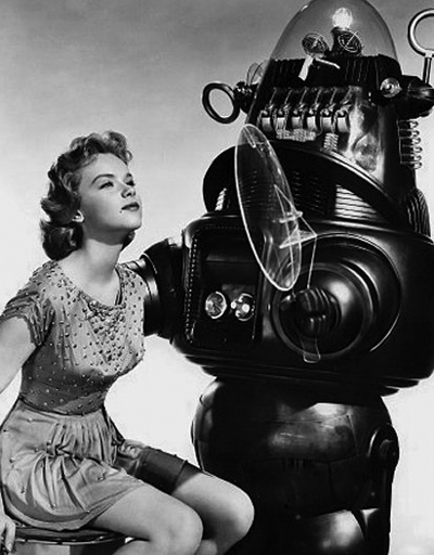 """Anne Francis in """"Forbidden Planet"""", IMBD"""