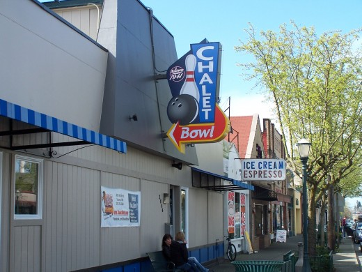 The bowling alley where I got my first job