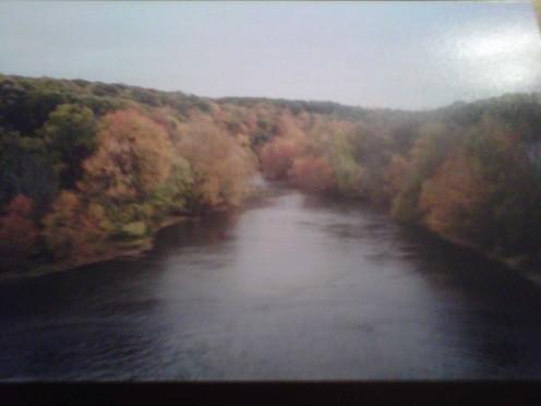 A picturesque fall foliage photo!