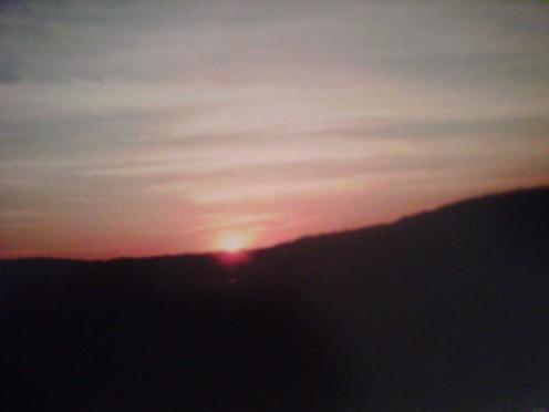 A beautiful sunset in PA!