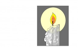 The candle is the ever faithful servant