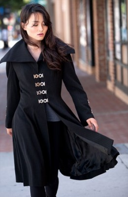 Womens Dracula Coat