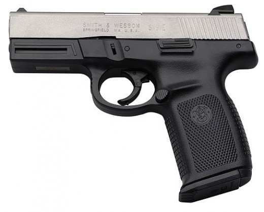 9mm: A weapon.