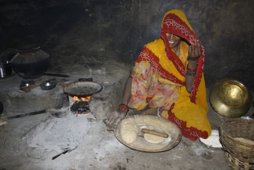 Indoor cookstoves powered by burning firewood, charcoal, and dried dung are a major source of indoor air pollution in developing countries.