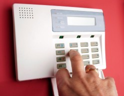 Home alarm system guide on how to change your security code from the control panel