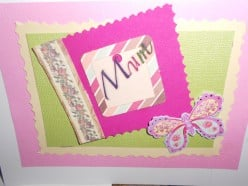 How to make a mothers day, birthday or other greeting card.
