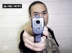 A terrifying image of Cho Seung-Hui the Virginia Tech shooter. What madness drove him to kill