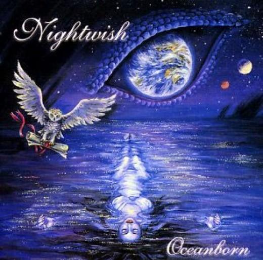 "The album artwork for ""Oceanborn""."