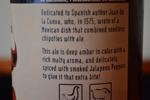 Rogue Chipotle Ale Label