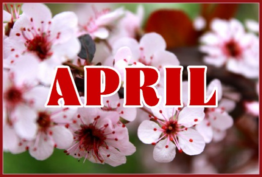 So much new life is bursting forth in the month of April!