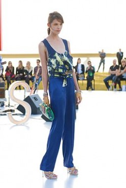 Flared pants are trending for spring 2012.