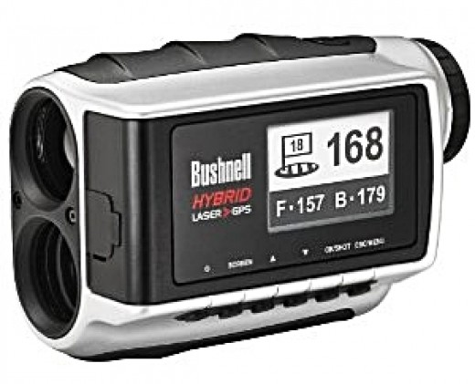 Bushnell Hybrid Pinseeker Laser Rangefinder and GPS Unit - 2013 Top 10 Ultimate Birthday Gifts for Men, by Rosie2010