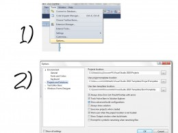"Two easy steps to give you the ability to access the ""Configuration Manager"" in Visual Studio 2010"