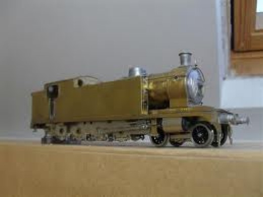 Unfinished 52F Models' kit LNER/BR Class T1 4-8-0T - master of the marshalling yard built by the North Eastern as Class X under Vincent Raven - allocated to Tees and Tyne Yards for heavy shunting/marshalling