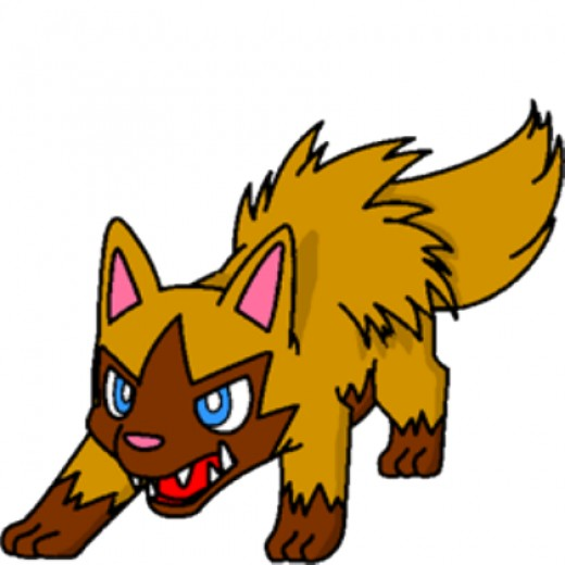 A shiny Poochyena is gold in color, as will the Mightyena be if you follow the Poochyena evolution chart and evolve at level 18+