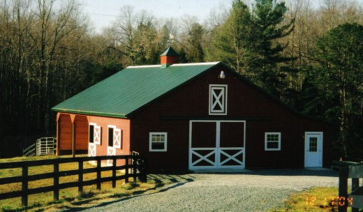 A barn in good condition can add a lot of value to your property