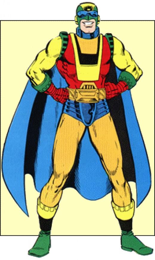 Captain Ultra - Superhero Pyrophobe
