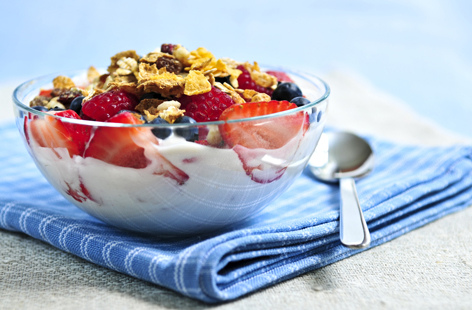 Healthy breakfast - Starting your day with a healthy breakfast (such as homemade muesli with fruit) will help cut down costly snacks during the day.