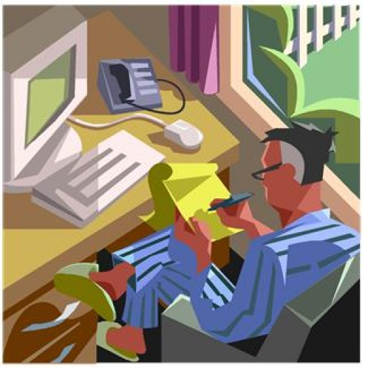 For taxpayers working at home the IRS has made taking the Home Office Deduction easier.