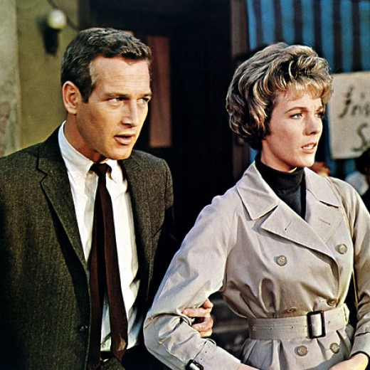 Paul Newman as the professor with a secret mission, and Julie Andrews as the fiancée with a big dilemma - to stay with him in Eastern Europe, or to be loyal to her country