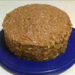 German Chocolate cake. Drool.