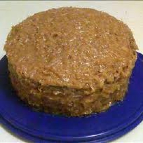 German Chocolate cake. Drool.