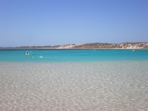 Coral Bay (high tide), Central-Western Australia.