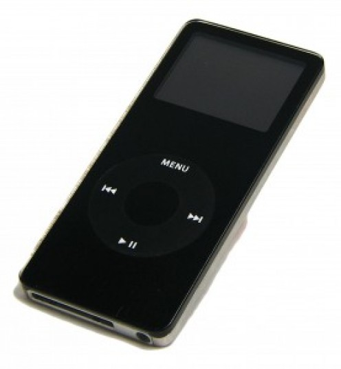 The original iPod nano is available with either 1, 2 or 4 GB of storage capacity.