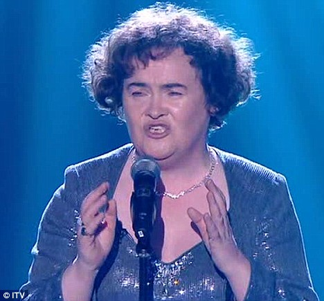 Susan Boyle stunned the judges and the world two years ago on Britain's Got Talent
