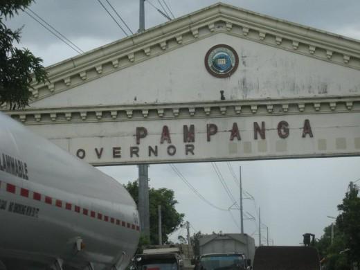 Pampanga signage