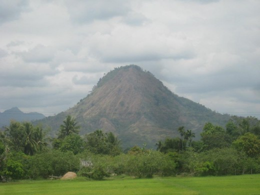 A mountain in Bataan