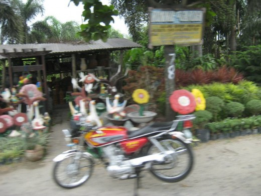 Road display at San Fernando, Pampanga