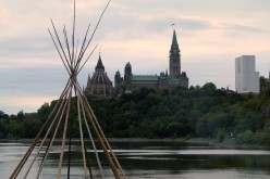 Ottawa, seen from Victoria Island