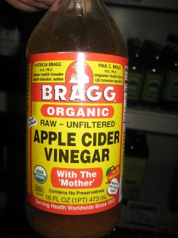 Apple cider vinegar for seasonal allergies