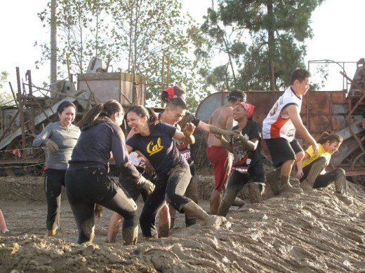 Get ready to have a dirty blast with your friends at the Camp Pendleton Mud Run