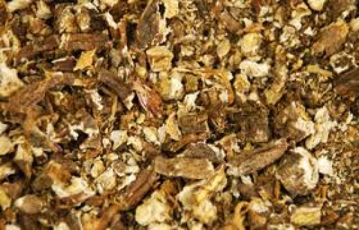 Chop dandelion root to make a decoction or tincture.