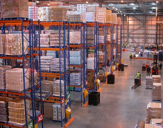 Warehouses like this could be potential lifesavers. But be wary of the fact that somebody may have got there first.