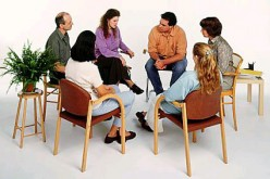 ...or patients are encouraged to participate in group therapy.
